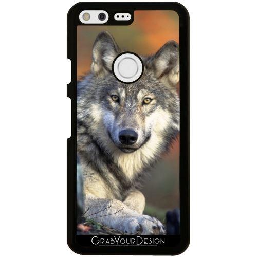 Coque Pour Google Pixel Loup Animal Mammifère Sauvage