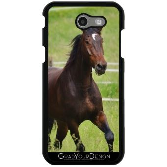coque samsung j3 cheval