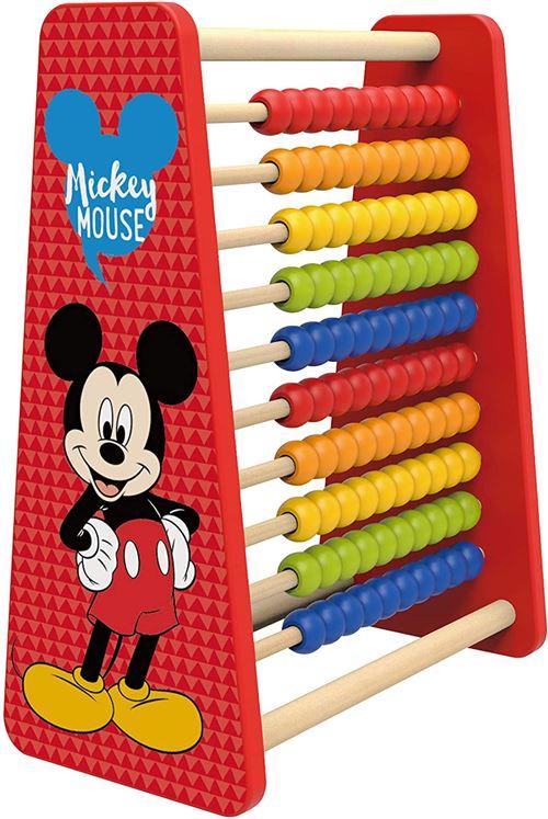 Disney boulier Mickey Mouse 32 x 26,5 cm bois rouge