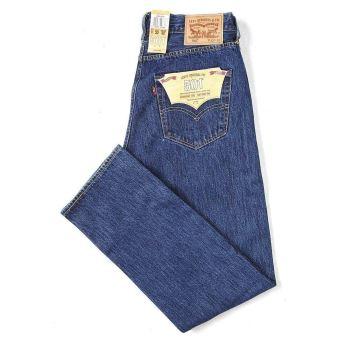 Levis 501 original fit jeans blue stone wash 0114 [W32 L32]