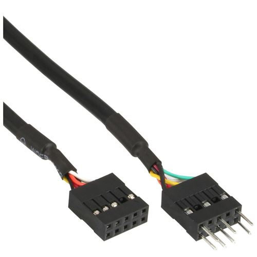 Inline 19995d câble 0.4 m noir inline®