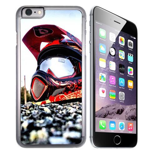 Coque pour iPhone 7 PLUS casque moto cro