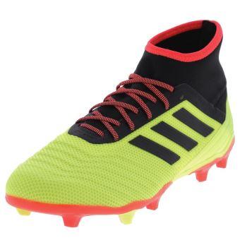 tout neuf 087ef 45ead Chaussures football lamelles Adidas Predator 18.2 fg jaune Jaune taille :  44 réf : 47842