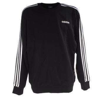 Sweat Adidas E 3s crew ft black/wht Noir