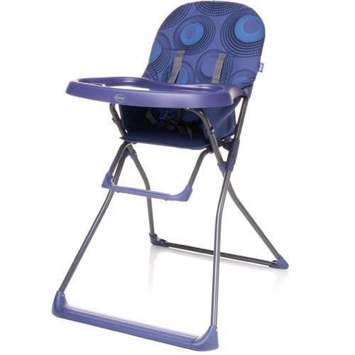 Chaise haute, pratique et légère HOWER | max. 15 kg | violet