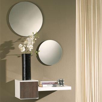 Entree Moderne 24€75 sur nouvomeuble - meuble d'entrée moderne blanc et couleur