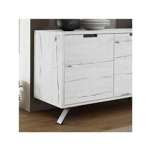 chne blanchi latest chambre moreno chne massif placage de chne teinte chne blanchi with chene. Black Bedroom Furniture Sets. Home Design Ideas
