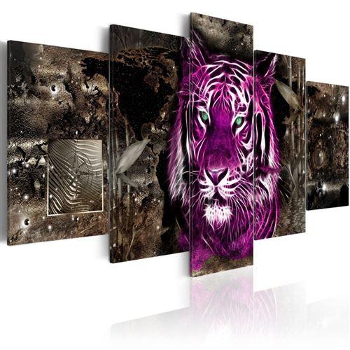 Artgeist - Tableau - Purple King 200x100