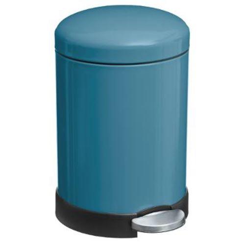 Poubelle à Pédale Colors 5L Bleu
