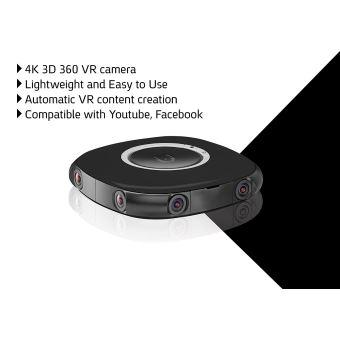 VUZE 3D-360 Degré-4K caméra Noir