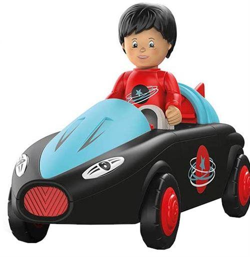 Toddys voiture-jouet Sam junior 19 cm noir/rouge 2 pièces
