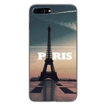 Coque silicone gel Apple IPhone 7 Plus motif Paris