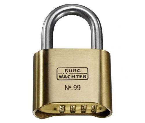 Burg-wachter cadenas no. 99 ni 50 sb - anse en acier inoxydable