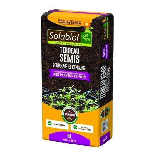 Terreau semis, bouturage et repiquage 6 L
