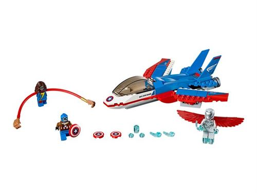 LEGO Marvel Super Heroes 76076 - Captain America Jet Pursuit