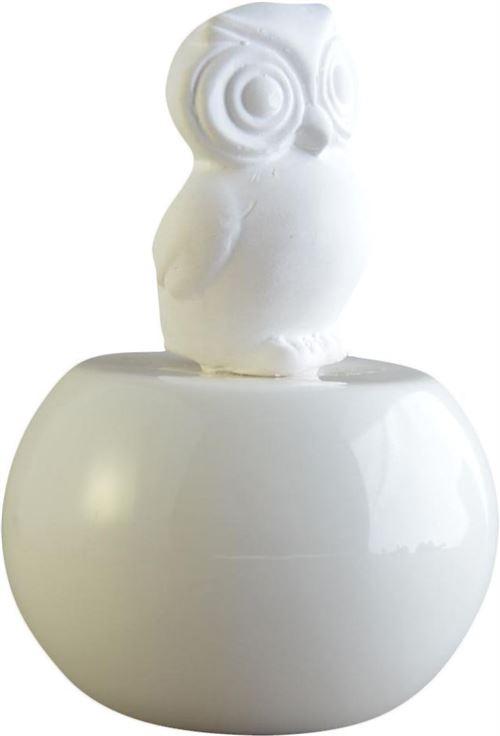 Zen Arôme - Diffuseur SoCute modèle hibou Blanc
