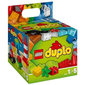 lego duplo 10575 le cube de construction cr ative 75 pi ces lego achat prix fnac. Black Bedroom Furniture Sets. Home Design Ideas