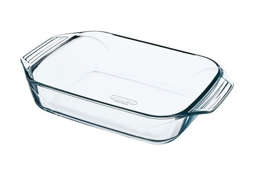 PYREX Plat a four rectangulaire 28x17 cm transparent