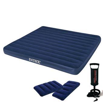 intex 64765 classic matelas pneumatique downy coussins. Black Bedroom Furniture Sets. Home Design Ideas