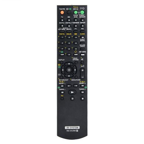 Télécommande de Remplacement pour téléviseur récepteur Sony RM-AAU060 AV
