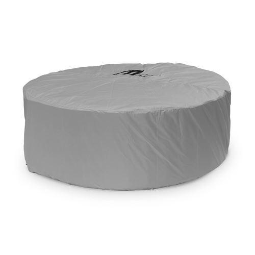 Housse de protection intégrale pour spa gonflable carré ou rond 4 personnes MSPA– Ø 190x70cm