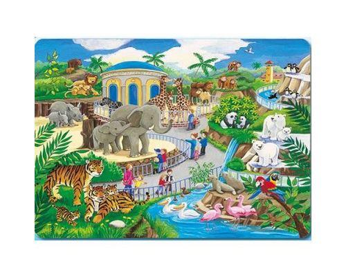 Puzzle cadre 30-48 p Ravensburger Visite au zoo