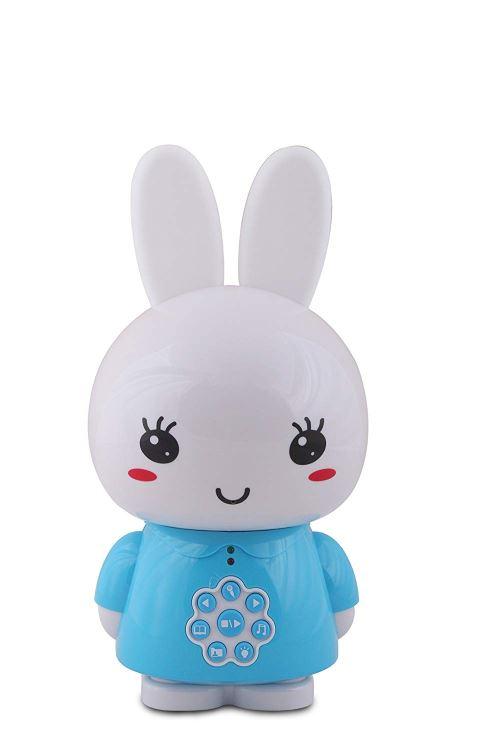 Inconnu Alilo- Honey Bunny Lapin Lecteur mp3 Veilleuse, G6BLEU, 24cm x 12cm x 12cm-312g