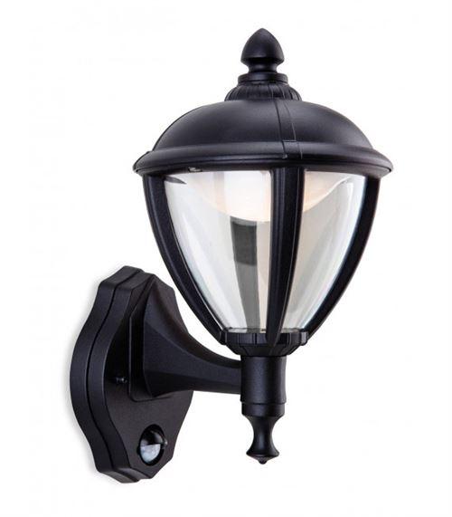 Applique Unite LED avec détecteur, noir