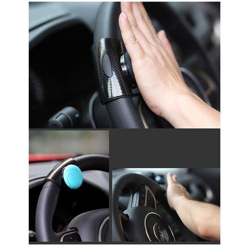 Noir 8 boules Poign/ée de volant de voiture et camion
