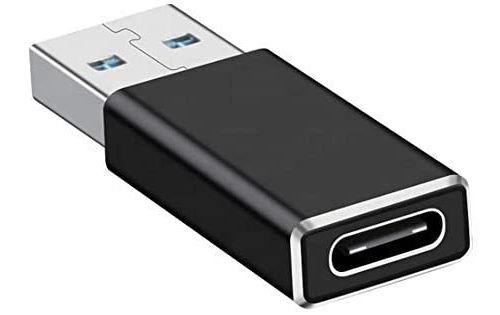 Ovegna Adaptateur USB3.1 : Adaptateur USB A vers USB C/Type C Ultra-Rapide, en Alluminium Monobloc