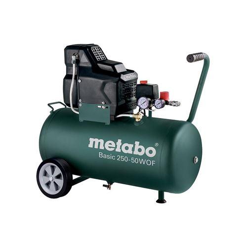 Soldes Metabo - Compresseur basic 1.5 kW 8 bar 120 l/min cuve 50 l - Basic 250-50 W OF