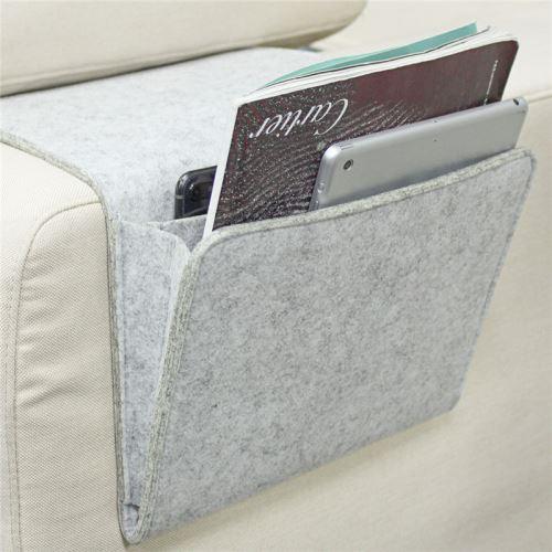 Feutre de laine de rangement en feutre de poche souple et flexible