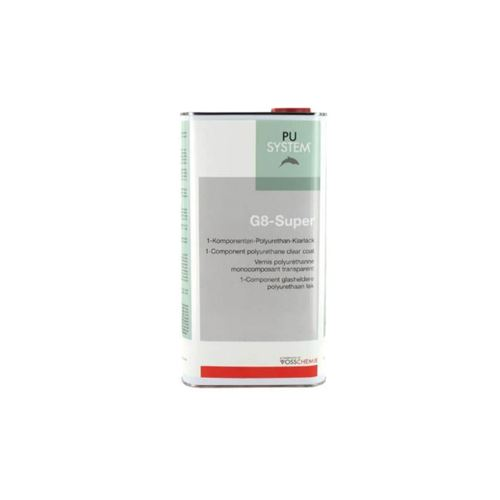 Vernis G8-Super polyuréthane transparent Vosschemie 5L