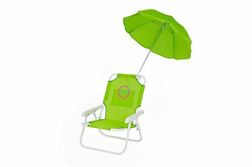 Fauteuil Enfant avec Parasol inclus - Structure Pliable