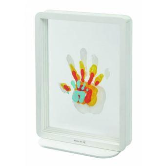 Kit créatif Baby Art Family Touch Cadre transparent 4 empreintes