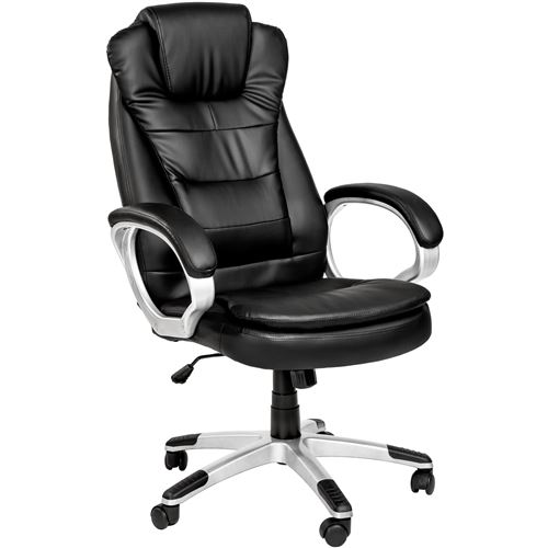 TecTake Fauteuil de direction extra rembourrage