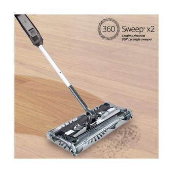 balai lectrique sans fil pour un nettoyage 360 multi surfances achat prix fnac - Balai Brosse Rotative Electrique