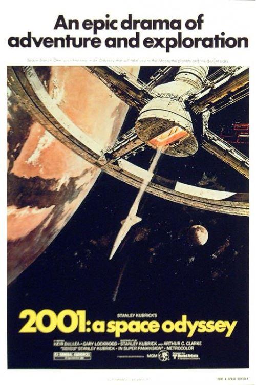 2001 L´Odyssée De L´Espace Poster US Style A 98x68 cm