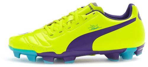 Puma evopower 4 fg gs <strong>chaussures</strong> de football en jaune citrus 102964 04