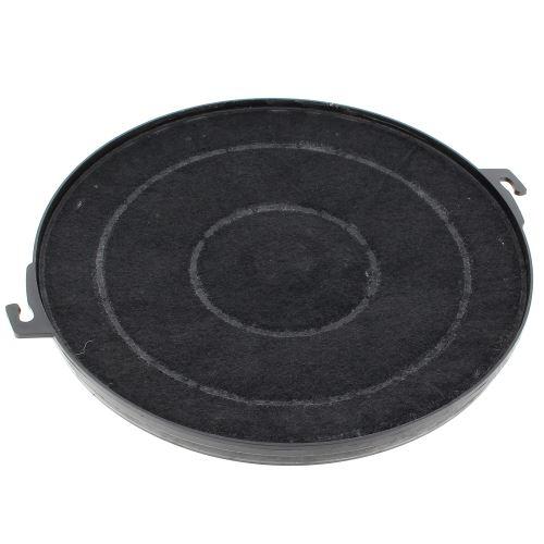 Filtre charbon rond type 211 pour Hotte Rosieres, Hotte Indesit, Hotte Candy, Hotte Faure, Hotte Electrolux, Hotte A.e.g, Hotte Far, Hotte Brandt, Hot