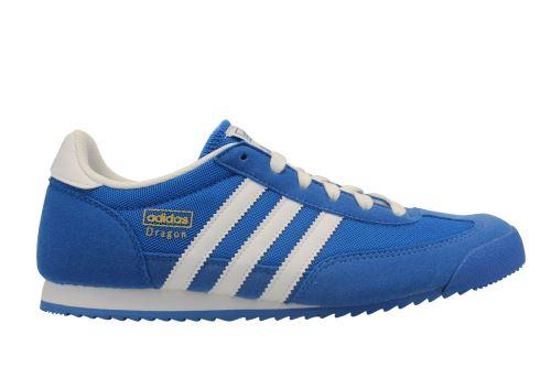 ADIDAS Dragon JR Bleu Vif 38 Enfant Chaussures et