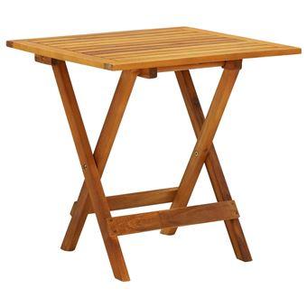 Table basse / d\'appoint de jardin en acacia - Achat & prix   fnac
