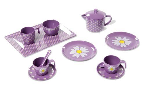 Smallstuff service à thé en mélamine 13 parties violet