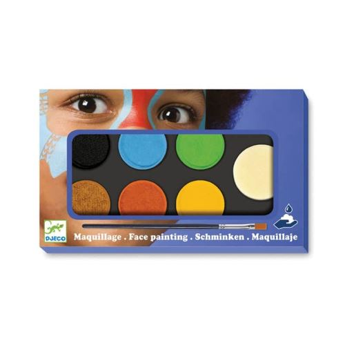 Palette maquillage 6 couleurs Nature