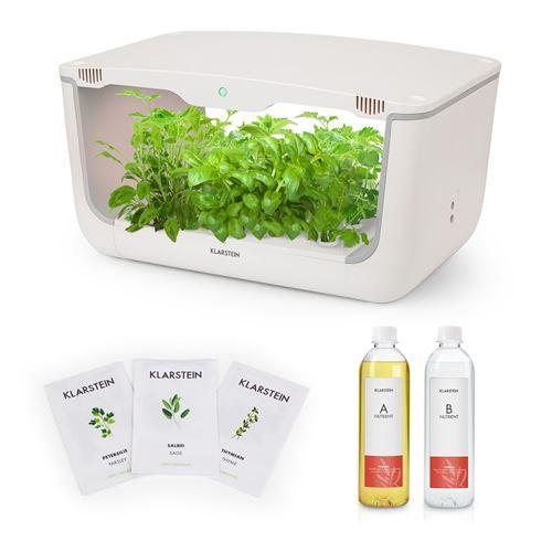Klarstein GrowIt Farm Kit de démarrage Culture Indoor pour 28 plantes - kit de semences Europe Seeds