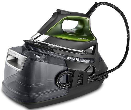 Rowenta Silence Steam Pro Fer à Repasser à Vapeur, 2800 W, 1,3 l, noir et gris