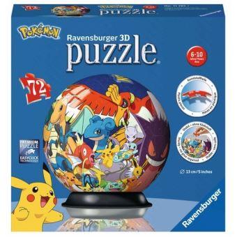 Puzzle 3d Puzzleball Pokemon Dracaufeu Salameche