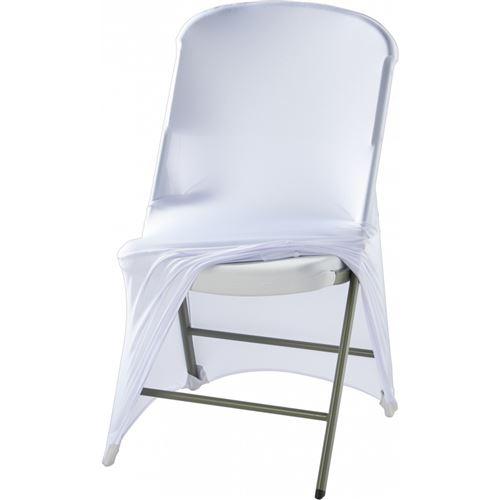 Housse Blanche ou Noire pour Chaise - Stalgast - Blanc