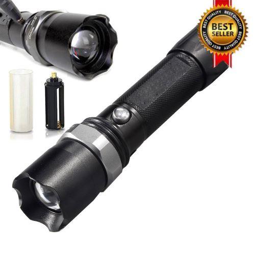 Police Tactical Heavy Duty 3W LED lampe de poche rechargeable