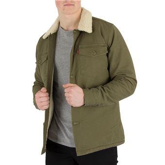 Levi s Homme Veste Sherpa militaire, Vert - Vestes de sport - Achat   prix    fnac a69df88ee49e